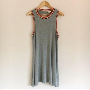 American Eagle AEO Soft & Sexy Gray Swing Dress